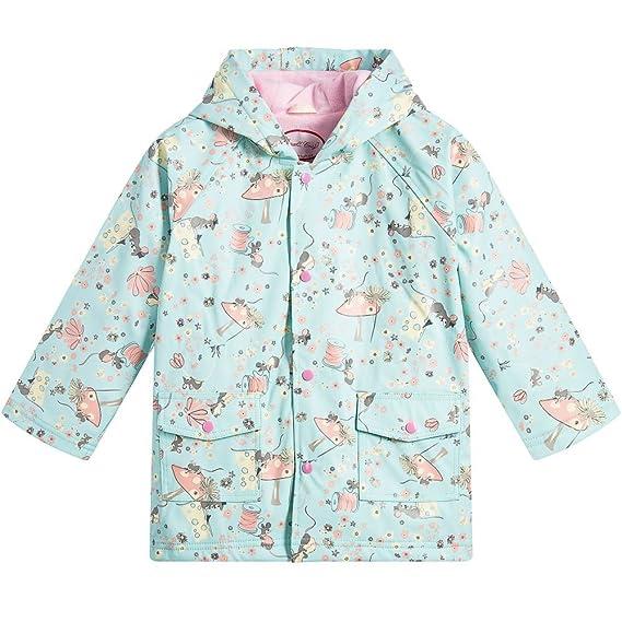 5856c59bc Powell Craft Girls Mouse Raincoat  Rain Mac. 1-7 Years.blue  Amazon ...