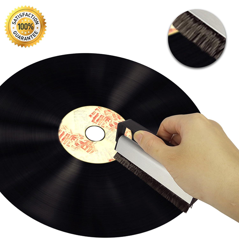 BIKO 3en1 Set de limpieza para discos de vinilo: Amazon.es ...