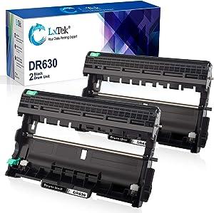 LxTek Compatible Drum Unit Replacement for Brother DR630 DR-630 High Yield to use with HL-L2300D MFC-L2705DW HL-L2300D MFC-L2720DW HL-L2320D Printer (2 Black)
