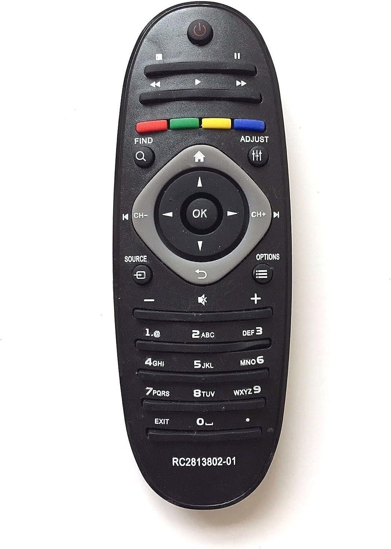 Mando a Distancia para televisor Compatible con Philips RC2813802-01 RC2813803: Amazon.es: Electrónica