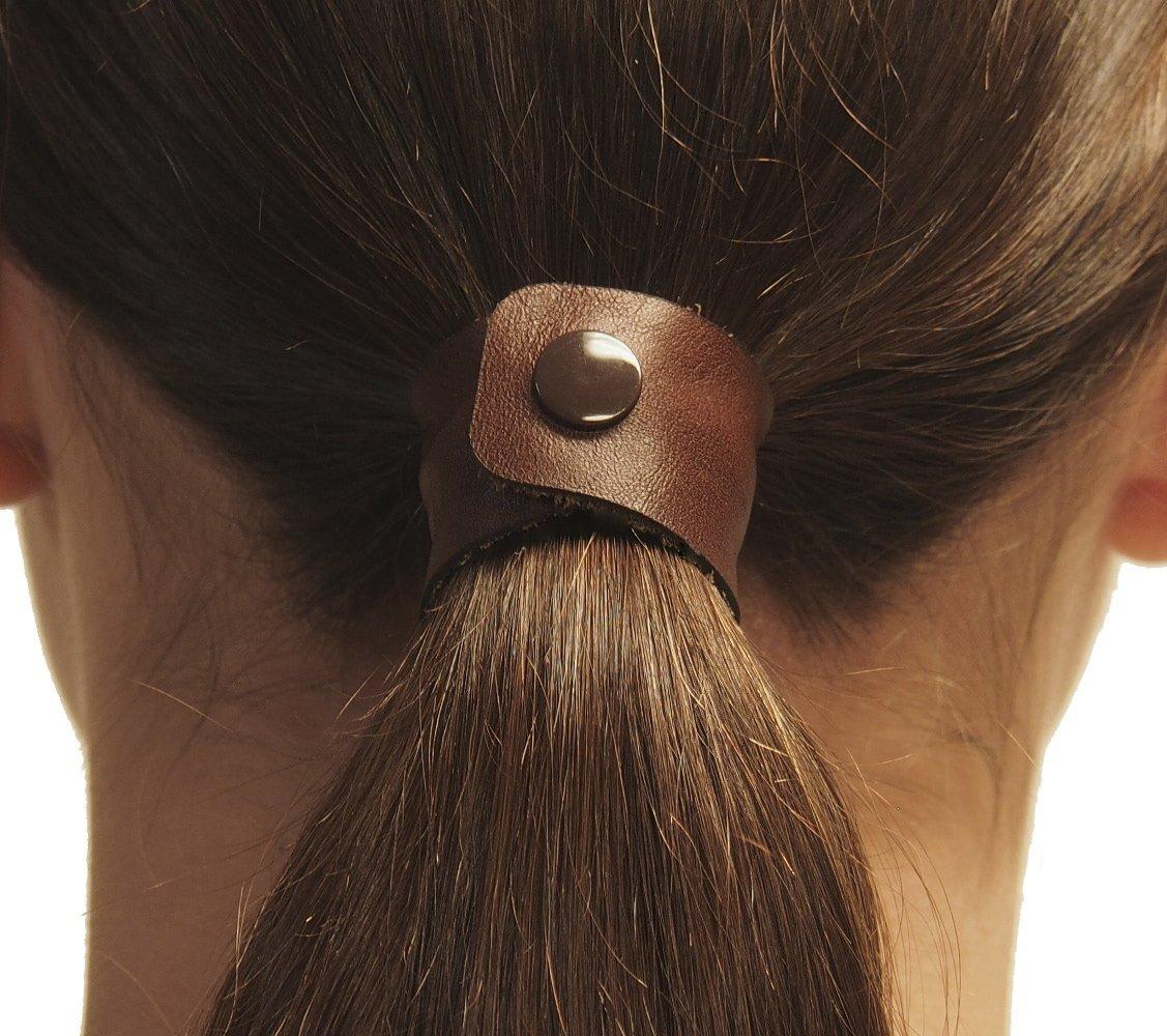 Amazon.com   Marron (Reddish-Brown) hair tie by Hairtyz (single piece)  941ca6929fb