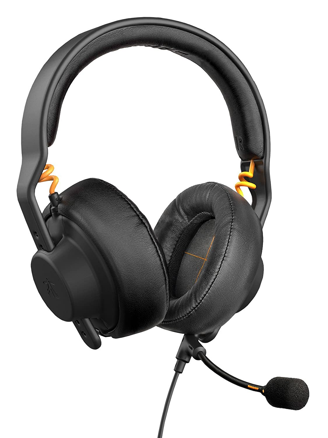 Fnatic Gear Duel cuffie da gaming (modello Over Ear e On Ear, microfono rimovibile, AIAIAI preregolazione TMA-2), nero Fnatic Gear Ltd FG-HS-5060455780457