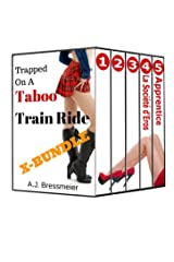 Trapped On A Taboo Train Ride, X-Bundle Kindle Edition