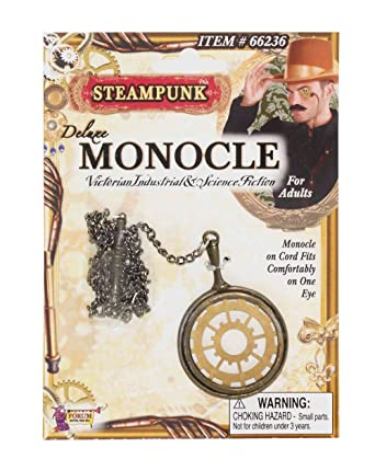 mens womens fancy dress accessory VICTORIAN INDUSTRY STYLE STEAMPUNK MONOCLE