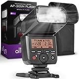Camera Flash Light Altura Photo AP-305N for Nikon D3500 D3400 D3300 D5600 D5500 D5300 D850 D780 D750 D7500 D7200 Z7 Z6…