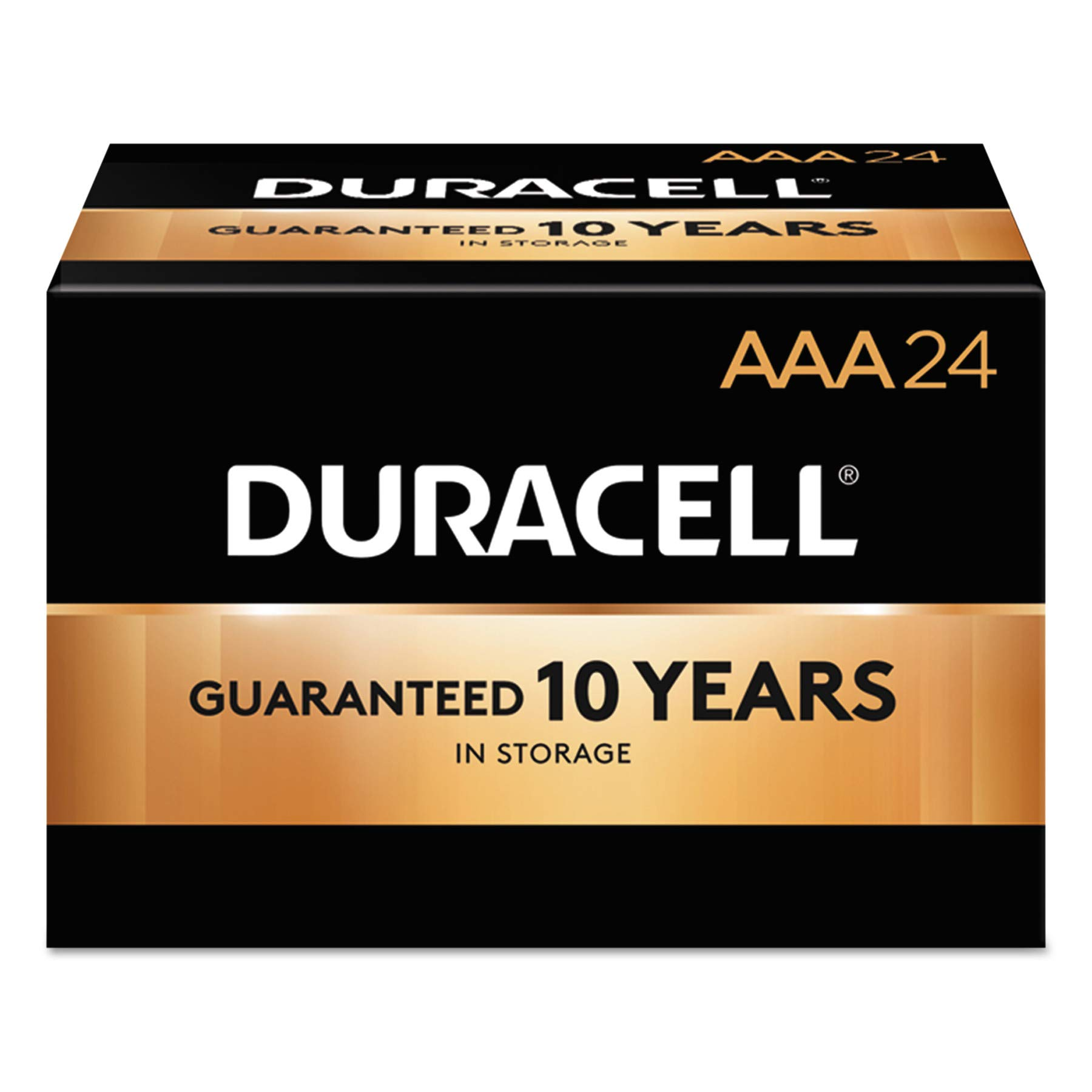 Alkaline Battery, AAA, 144/CT, Sold as 1 Carton by Duracell