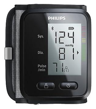 Philips DL8765/01 - Tensiómetro (Antebrazo, Automático, Negro, 2 usuario(