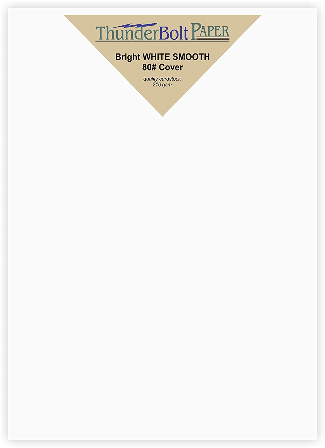Amazon.com : 200 Bright White Smooth Card Paper Sheets - 5.5\