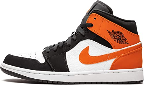 Nike Jordan Uomo Air Jordan 1 Mid Leather Synthetic Formatori