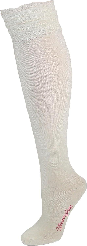 Wrangler Ruffle Top Knee High Socks
