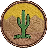 "Cactus Patrol Patch - 2"" Round (Sew-on)"