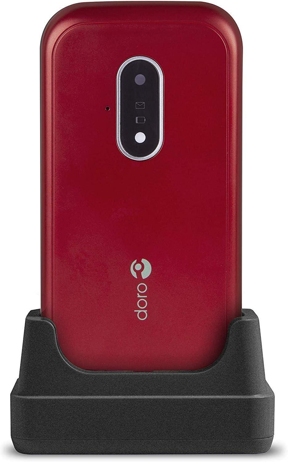 Doro 7030 (Rojo/Blanco): Amazon.es: Electrónica