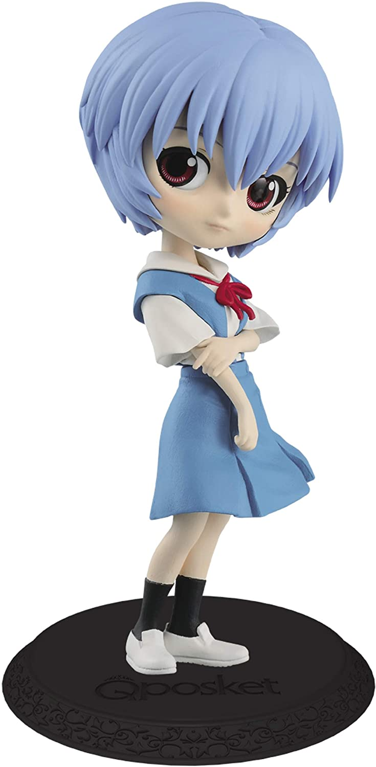 New Theatrical Edition Q posket Rei Evangelion Normal color
