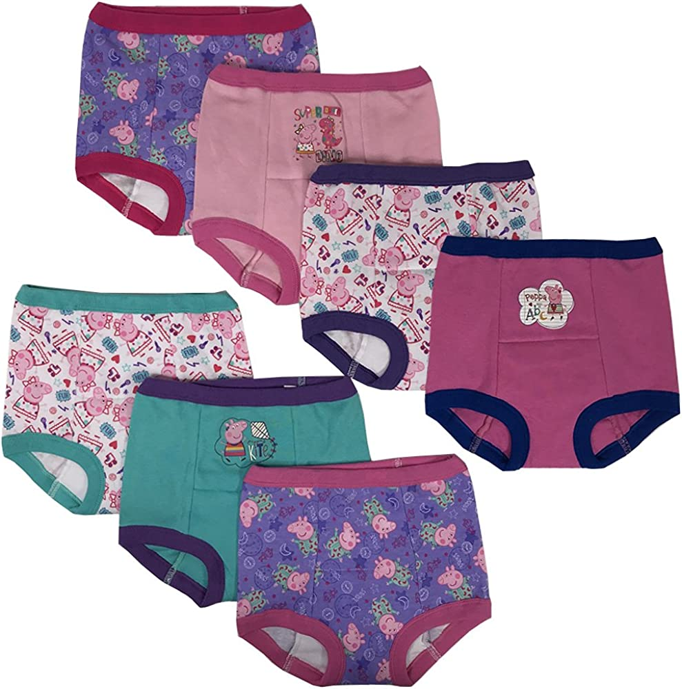 Handcraft Disney Cars Boys Potty Training Pants Underwear Toddler 7-Pack Size 2T 3T 4T