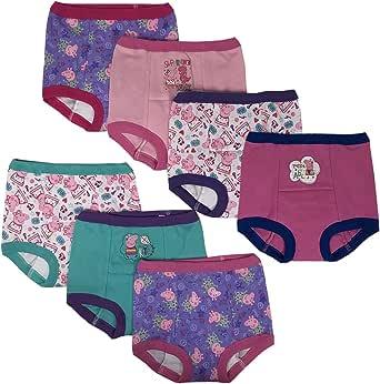 Peppa Pig Girls GTP6032 7-Pack Training Underwear - Multi