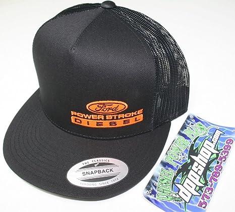 Ford POWERSTROKE - Gorra plana Bill Ball Cap sombrero ajustable ...