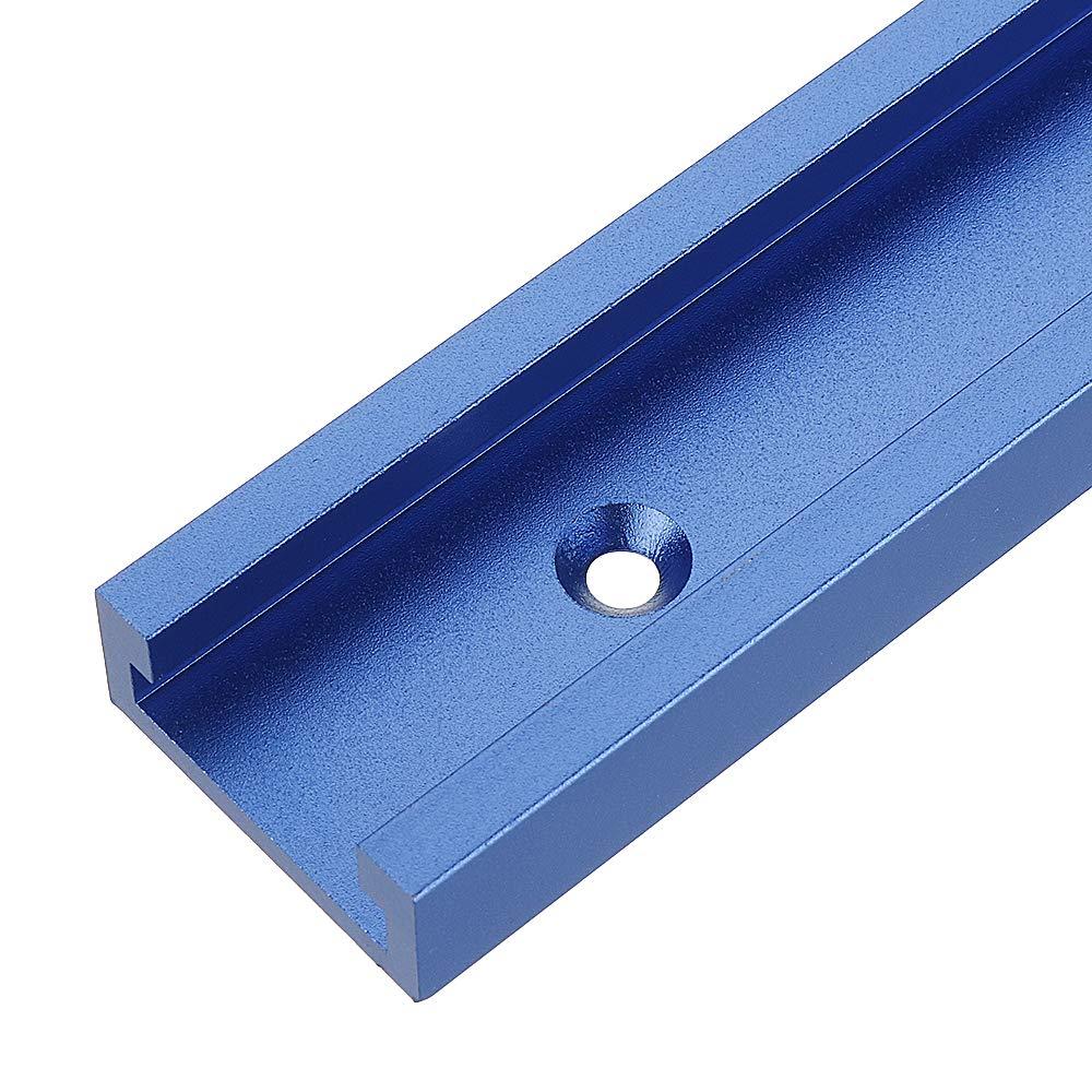 Belupai Blue 300-1200 mm ranura en T para sierra de mesa Router Table Woodworking Tool