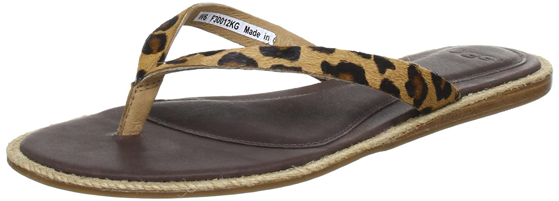 ebb6e8050 UGG W s Allaria Leopard Flip-Flops Women multi-coloured Mehrfarbig ...