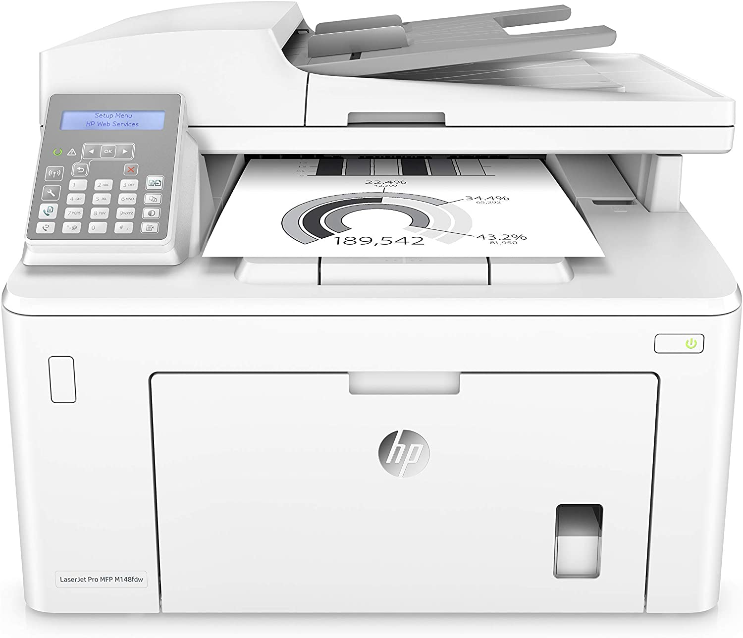 HP LaserJet Pro M148FDW (Renewed)