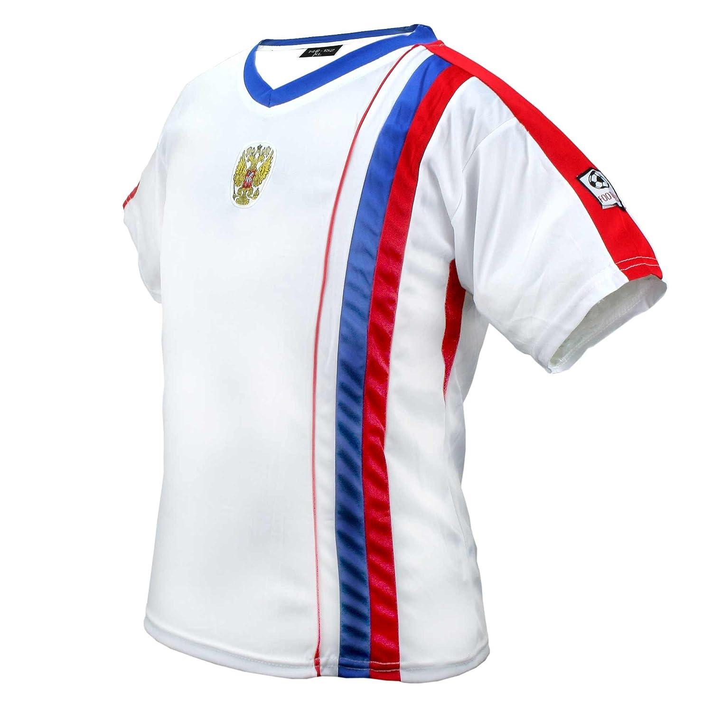 unisex, Mundial de 2016 Camiseta deportiva de la selecci/ón de Alemania color blanco MC-Trend