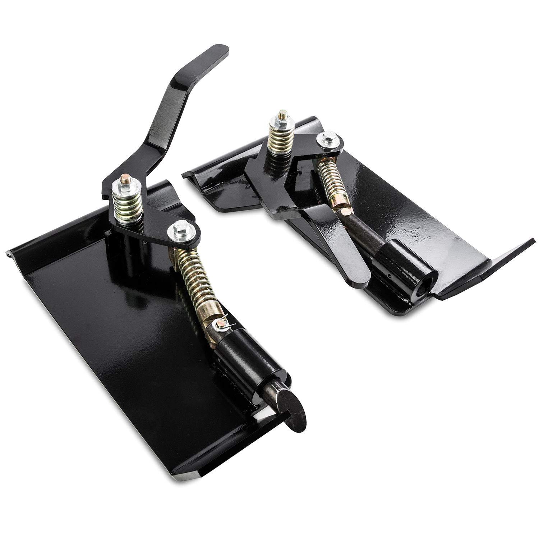 Universal Skid Steer Quick Tach Conversion Adapter Quick Tach Bobtach Latch Box Weld On KapscoMoto