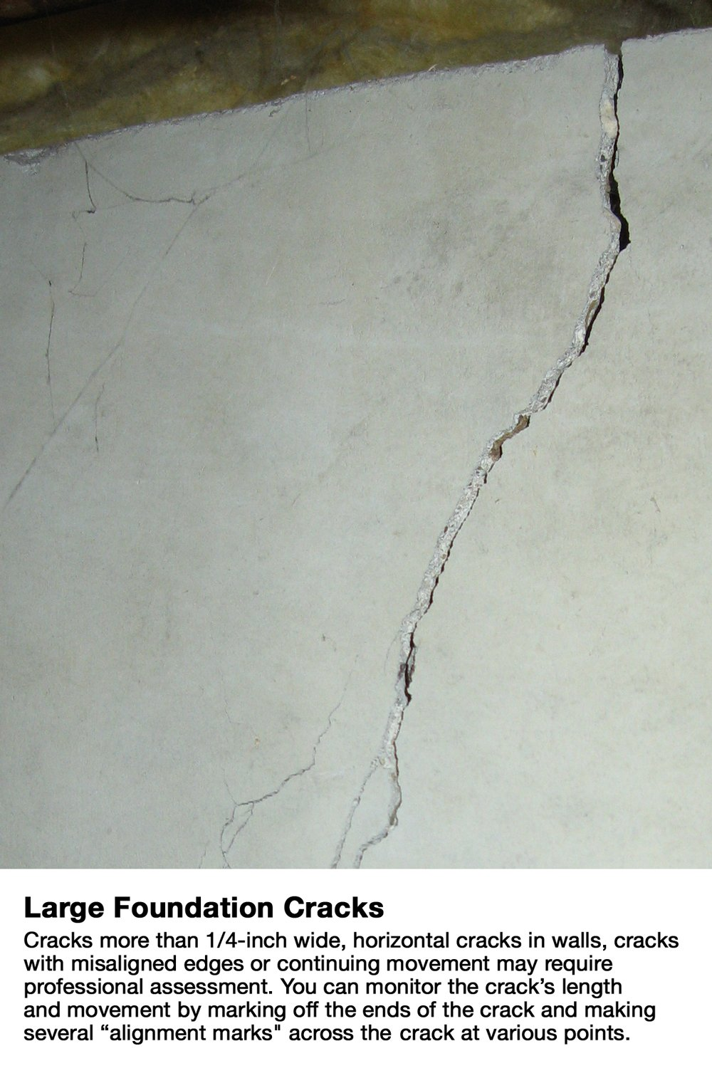 Diy Concrete Foundation Crack Repair Kit 10 Ft The Homeowners Basement Wiring Walls Solution To Fixing Wall Cracks Like Pros Surface Products