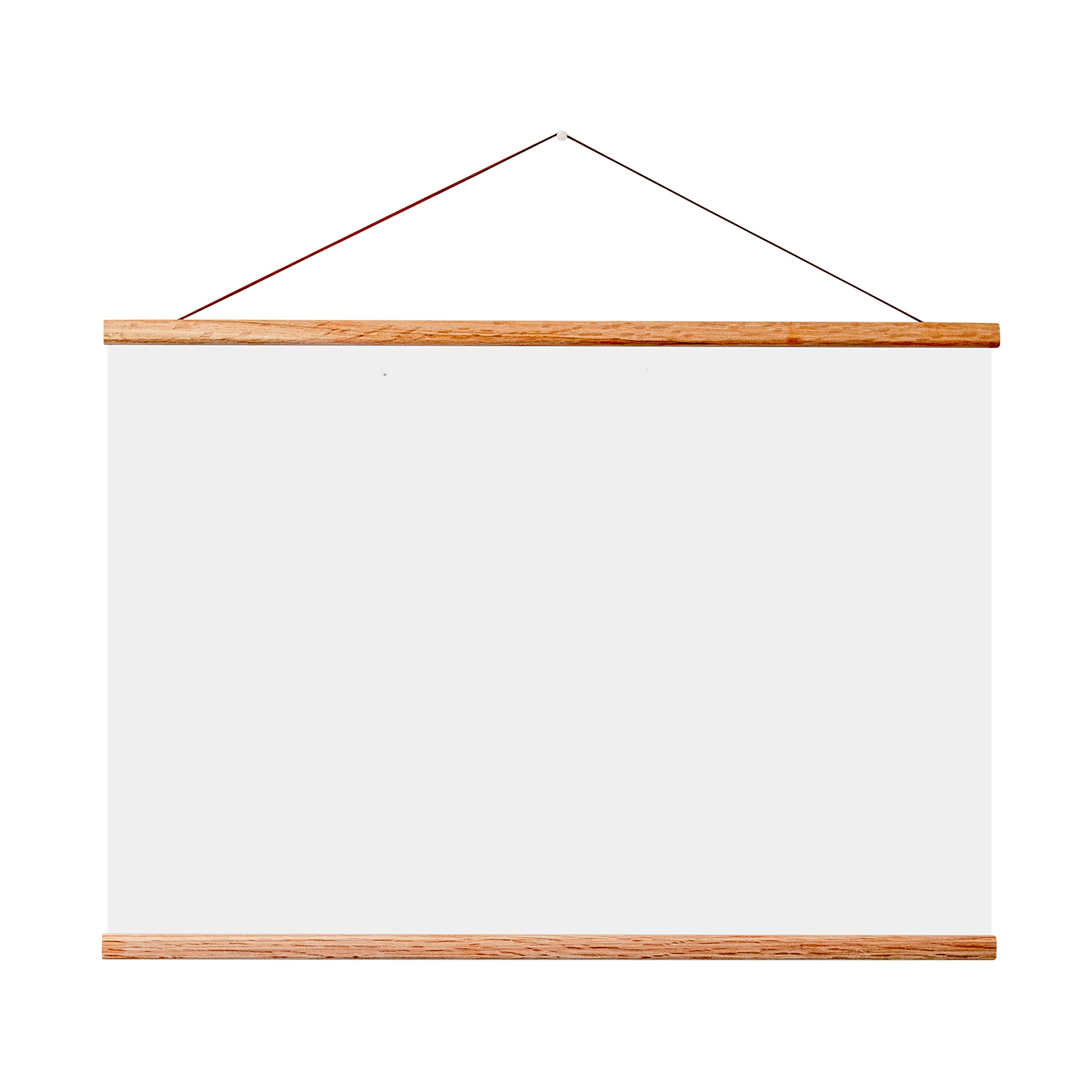 24x36 Frame For Scratch Off Map. Magnetic Hanger Frame for Posters and Prints by LANDMASS