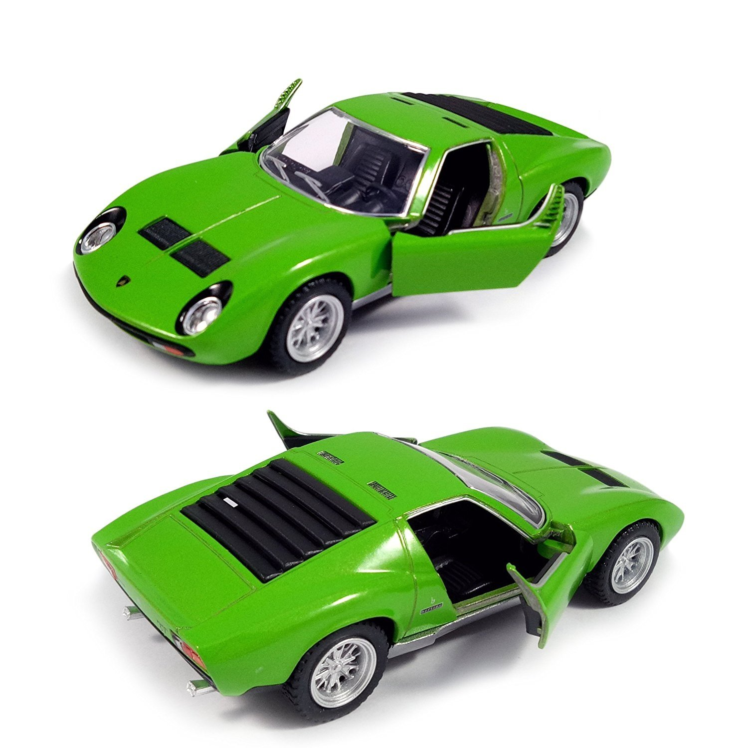 Buy Kinsmart 1971 Lamborghini Miura P400 Sv Die Cast Car With
