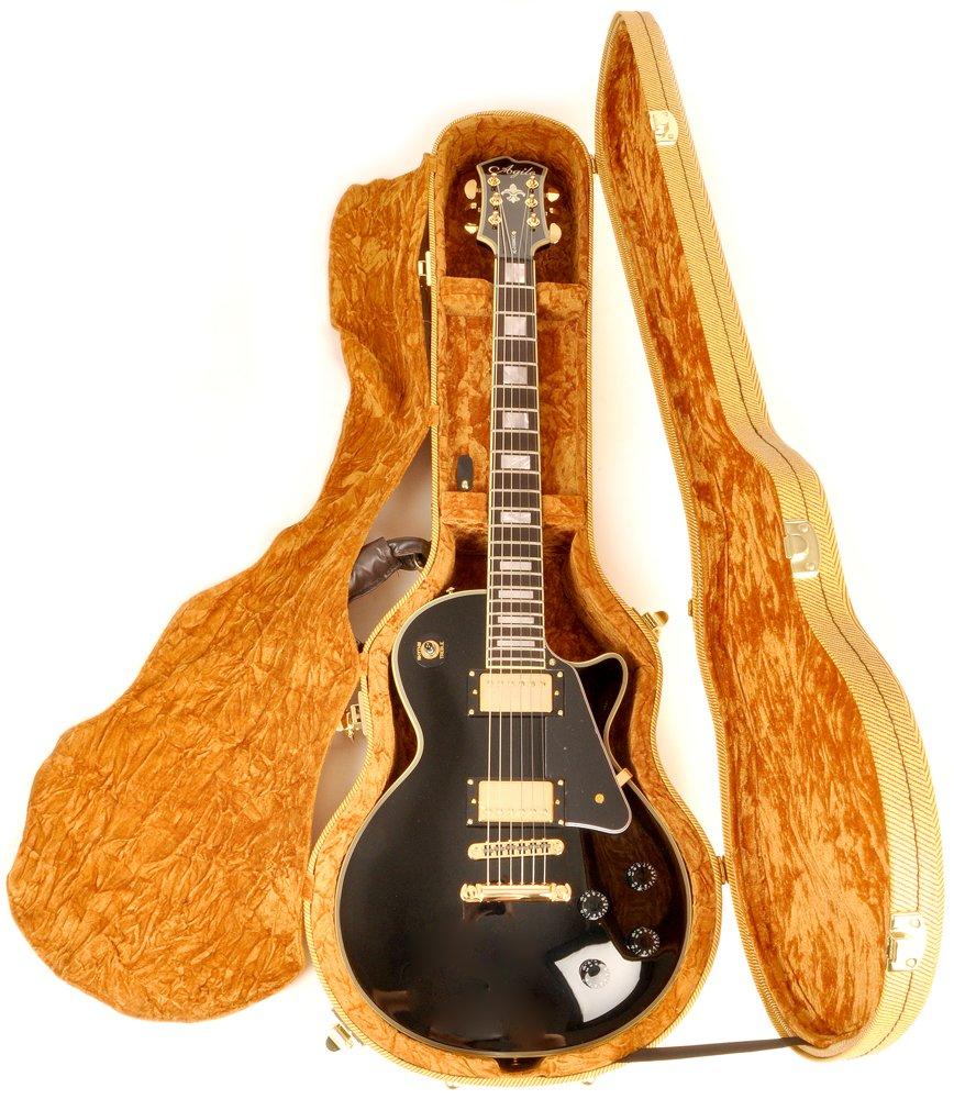 Douglas EGC-450LP Tweed/Gold Les Paul Case