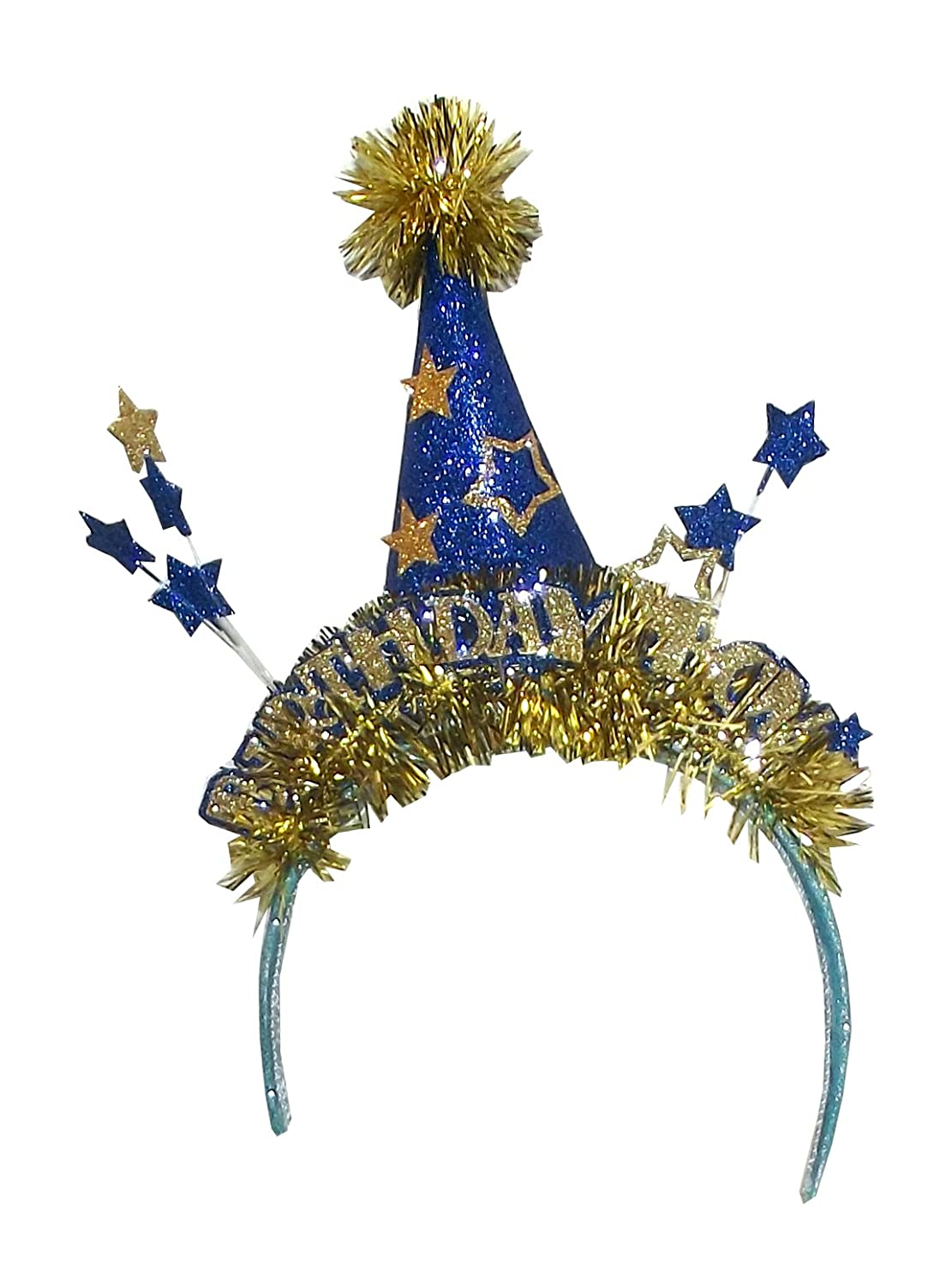 Amazon One Hundred 80 Degrees Royal Birthday Party Hat Headband Size Jester Boy Health Personal Care