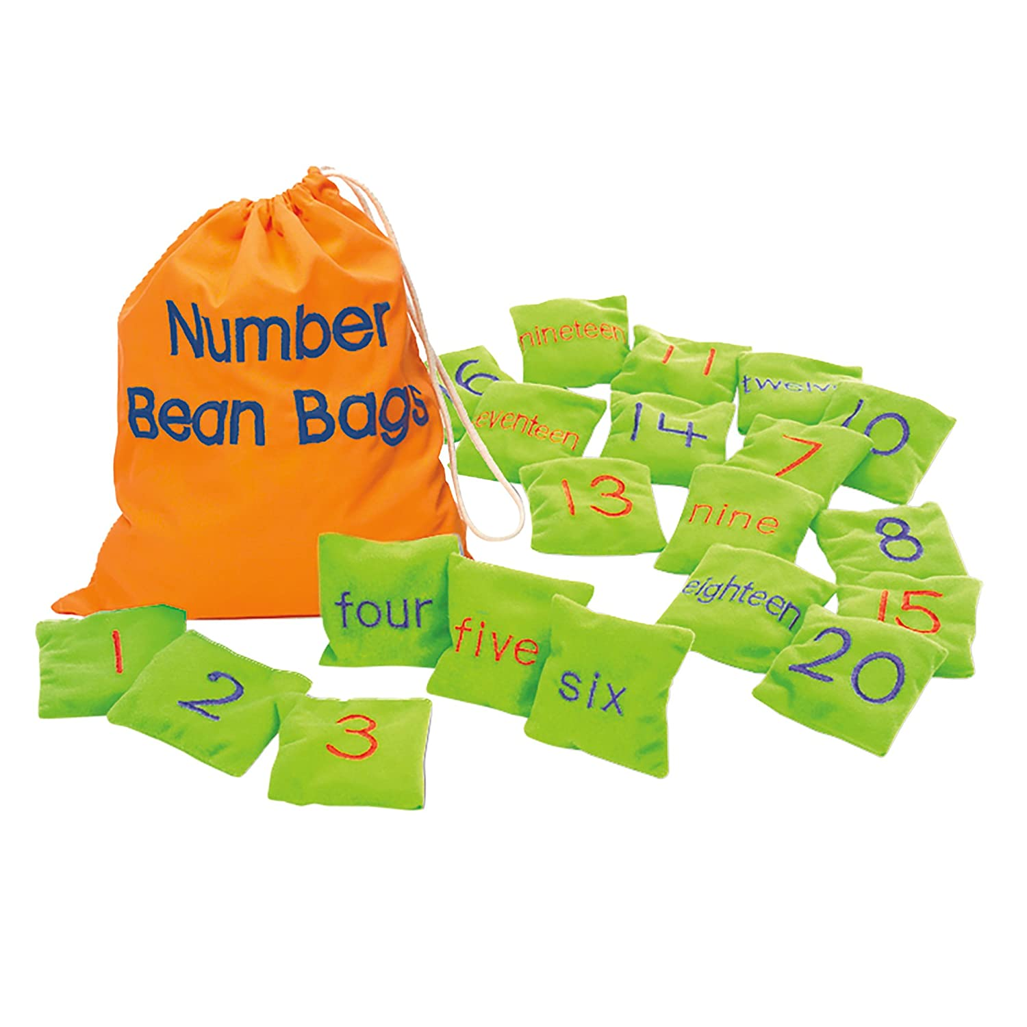 Amazon.com: Educational Insights Number Beanbags: Toys & Games