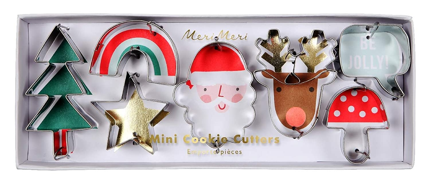 Mini Christmas Cookie Cutters Amazon Co Uk Kitchen Home