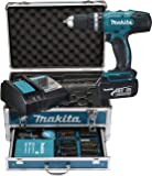 Makita DHP453RFX2  Perforateur burineur SDS Plus avec coffret Makpac/2 batteries 18 V 3Ah