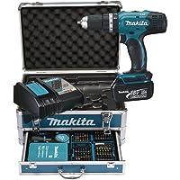 MAKITA DHP453RFX2 Tassellatore, 2x18V 3Ah Li-ion + valigetta Makpac