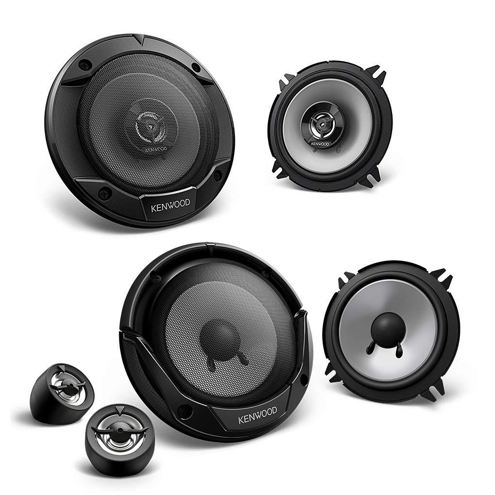 Kenwood Full Set of Front and Rear 13/cm//130/mm Car Speaker//Speakers//Speakers for Dacia