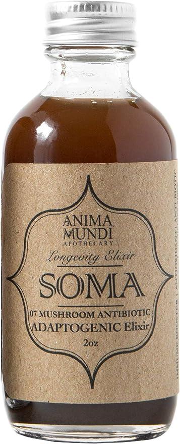 Anima Mundi Soma 6 Mushroom Adaptogenic Elixir