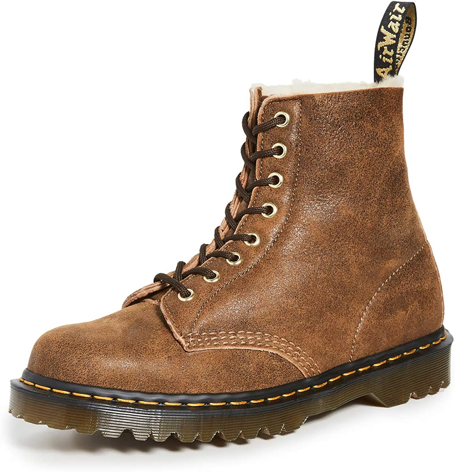 Martens 1460 Pascal 8 Eye Ankle Boots Leather Combat Shoes Dr