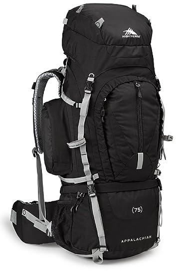 Amazon.com : High Sierra Appalachian 75 Internal Frame Pack, Black ...