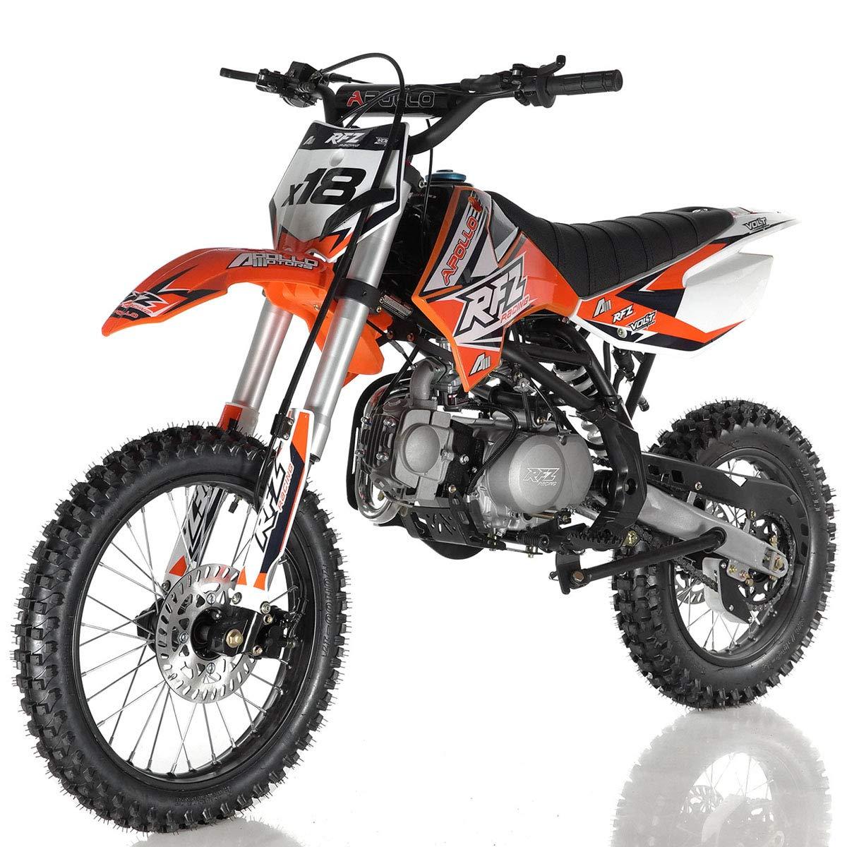 Amazon.com: 125 cc Dirt Bike Pit Bike Adultos Dirtbikes ...
