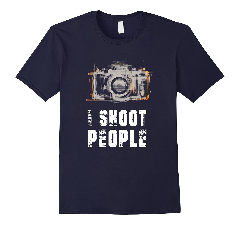 i shoot people - camera love tee shirt-Art