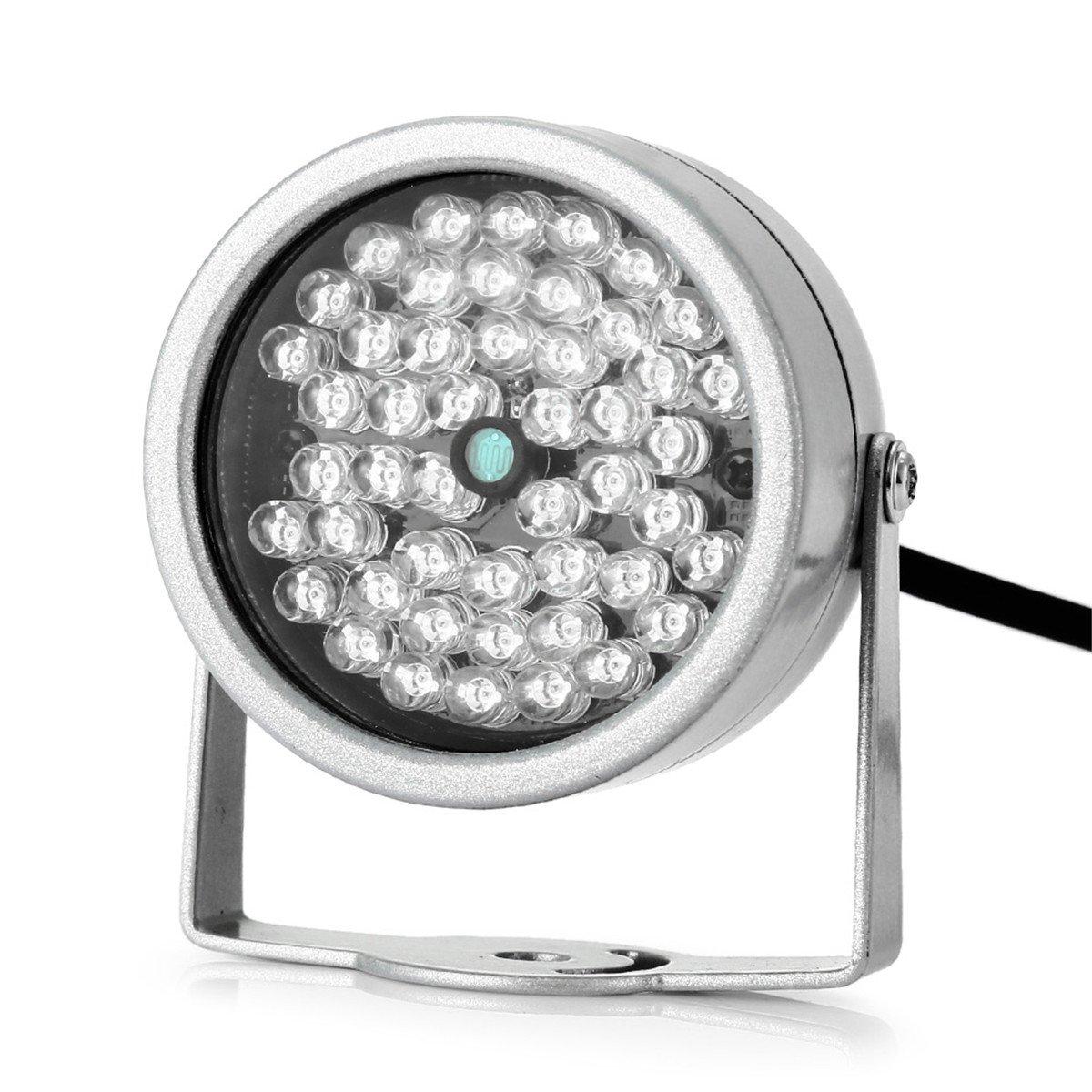 AVOLUTION LED 12V Night Vision Infrared Illuminator Light Fill Lamp Street Light