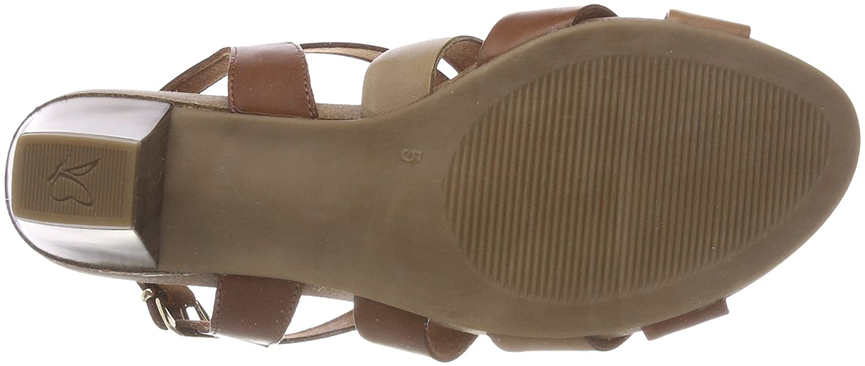 CAPRICE Mehrfarbig Damen 28310 Slingback Sandalen Mehrfarbig CAPRICE (Nut/Camel/Sand 346) 0aeb28