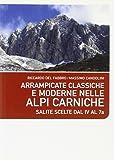 Arrampicate classiche e moderne nelle Alpi Carniche. Salite scelte dal 4 al 7a