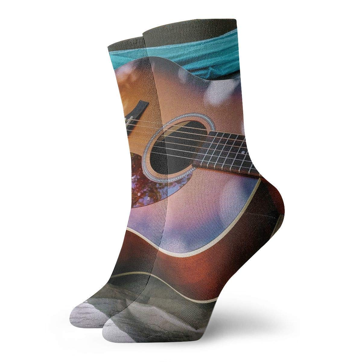 Calcetines de guitarra para pintar calcetines de fútbol para mujer ...