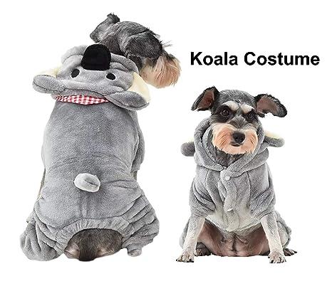 FishBabe cómodo cálido Invierno Koala Disfraz para Perros Mascotas ...