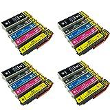 PerfectPrint - 20 compatibles cartuchos de tinta 26XL Para Impresora Epson Expression Premium XP-510 XP-600 XP-605 XP-610 XP-615 XP-700 XP-800