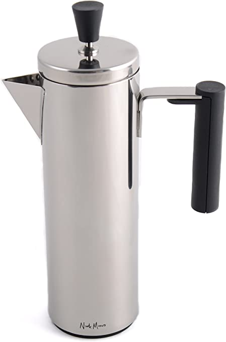 La Cafetiere Geo Silver 3 Cup Cafetiere French Press Coffee Maker