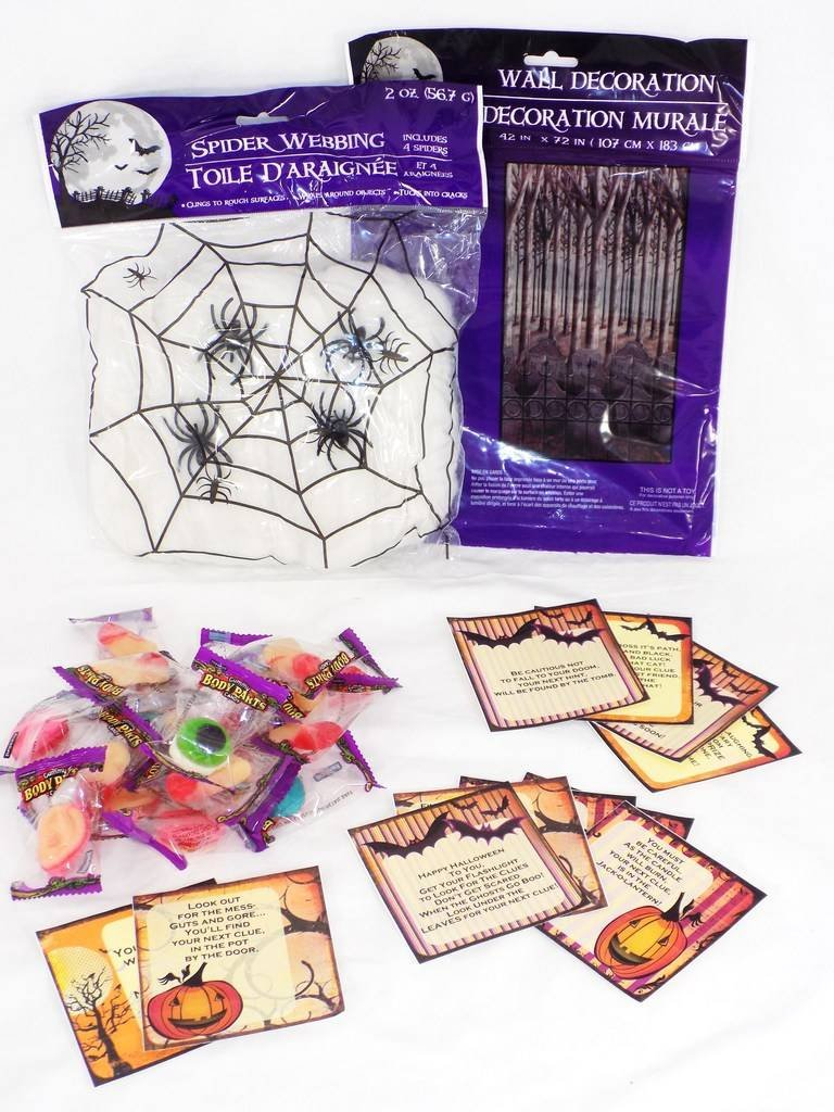 Halloween Scavenger Hunt Kit For Your Party Activity Game Ages K-3Rd Grade 2