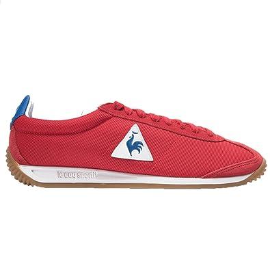 Le Coq Sportif Quartz Nylon Gum Homme Chaussures Rouge  Amazon.fr ... 877fe7545f52