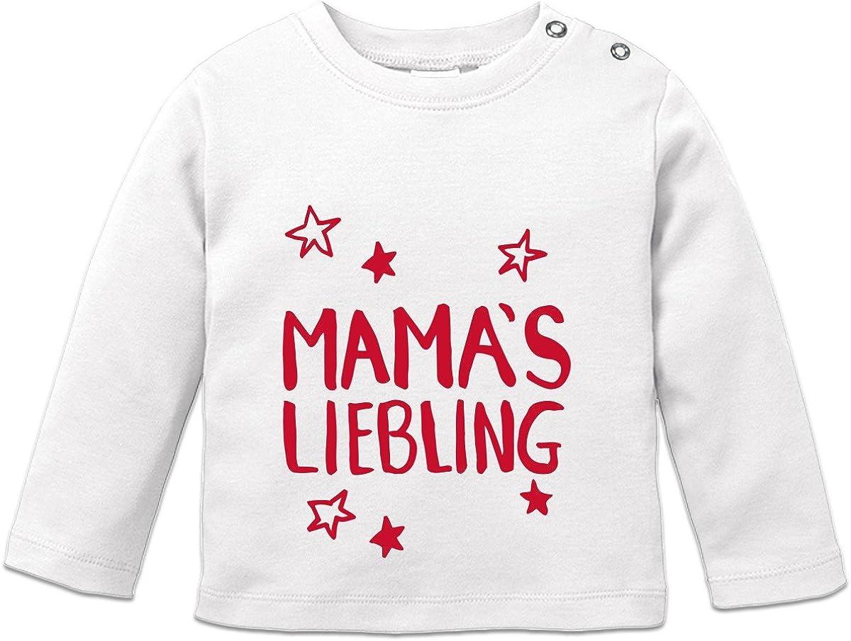 Shirtcity Mamas Liebling Baby Langarmshirt by